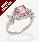Tickled Bliss CZ Ring